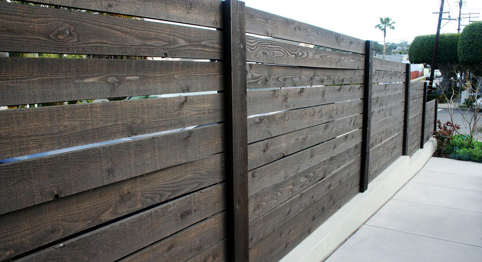 Cross Construction Inc. Wooden Fence
