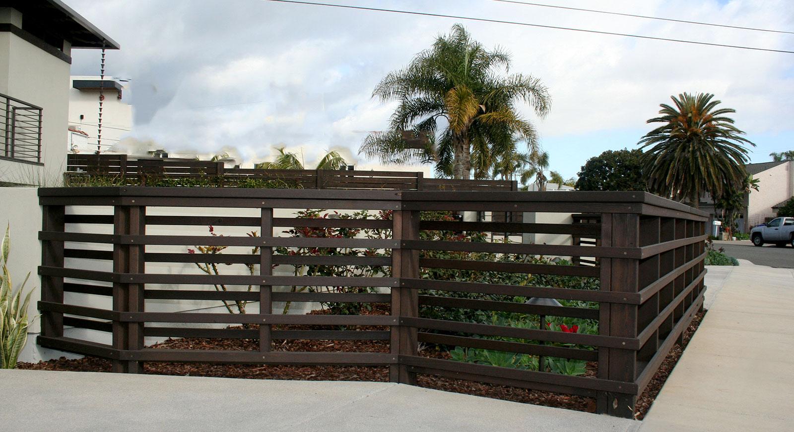 Cross Construction Inc. Outdoor Fence