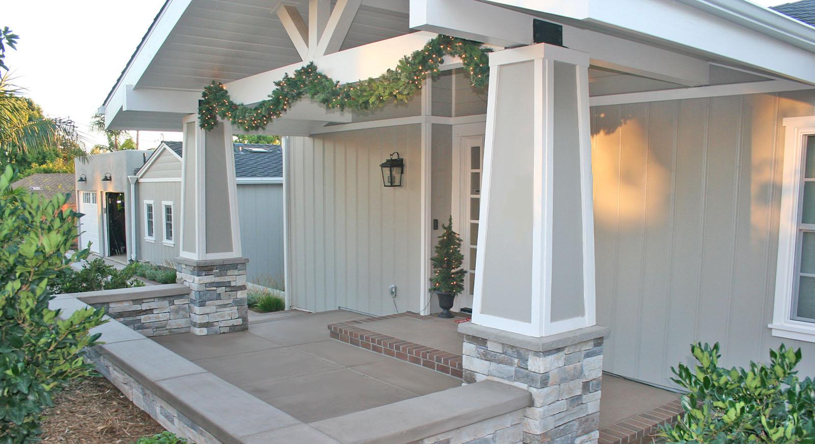 Cross Construction Front Porch